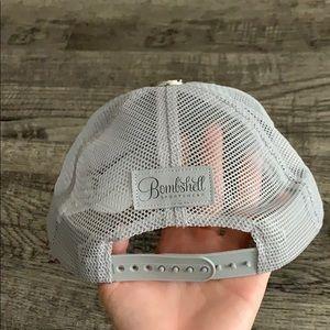Bombshell sportswear Grey SnapBack